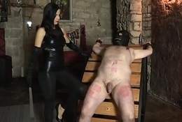 At The Mercy of Lady G - Real Czech Domination with great mix of tortures
