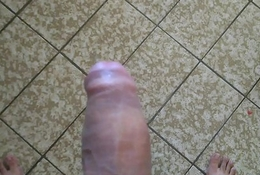 Cum Over Room - Thick White Cock Homemade