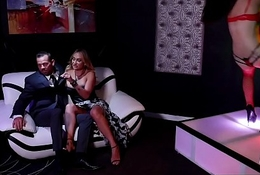 The Stripper Experience - Claudia Valentine receives the brush ass fucked by a beamy dick
