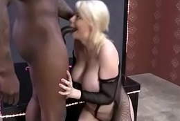 White Slutty wife is gangbanged by BBCs 11