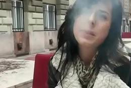 Public Locate Sucking In Europe With Sexy Amateur Teen 11