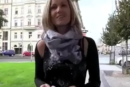 Public Dick Sucking In Europe With Sexy Amateur Teen 09