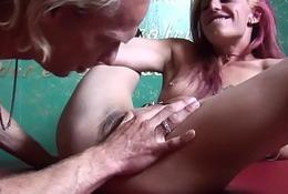 Dutch prostitute fucked before tasting cum