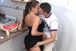 THICK Latina gets an ANAL Fucking