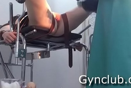 Tanya on the gynecological chair (episode-6)