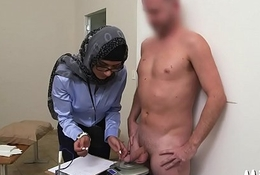 Cock-jerking performed in arab style