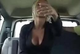 Juvenile doxy tries hot car sex