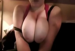 canadian babe showing her big unlimited tits on webcam