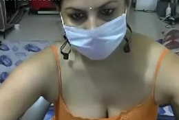 Horny punjab girl show her confidential on cam