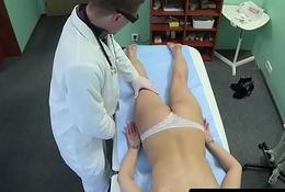 Falsify examines skinny euro amateurs body