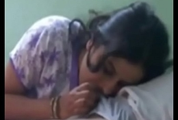 Desi fit together sucking cock