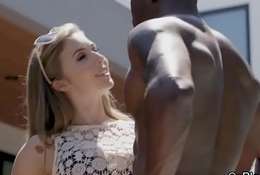 Bigtit intern big black cocked by boss
