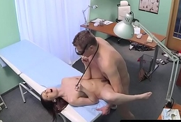 Amateur euro babe plowed by doctors cock