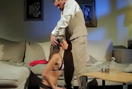 Rough BDSM with tiny Gina Gerson