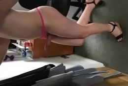 CD Horny in Heels Masturbating