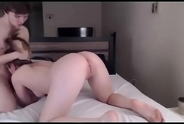 horny whore fucks a big shaft in private stolen video