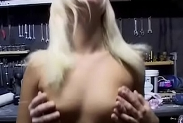 Ugly freak with glasses fucks blonde great-butt neighbour'_s wife (1)