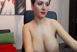 Unannounced hair chick with amazing big boobs WOW