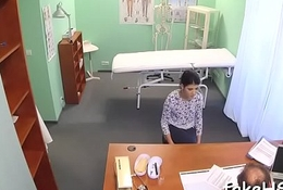 At clincher horny doctor gets drilled
