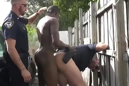 Gay guys getting fucked by sexy police because were cops who have