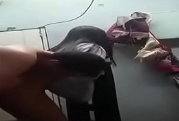 Tamil School Girl Nithya Horse Ride Video