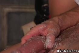 Tranny nun anal punishes celebrant