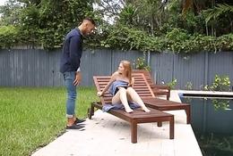Teen Redhead Caught &amp_ Fucked