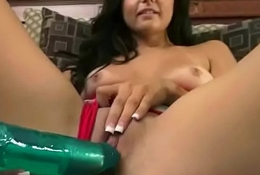 Alone Freak Girl (ariana marie) Play With Her Pussy Using Sex Things mov-23