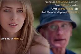 Grandpa Fucks Teen Pussy She Takes Open Mouth Facial Cumshot