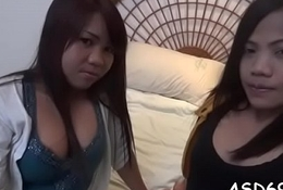 Relaxing with a thai bitch