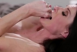 Taboo stepmom seduces a horny stepson