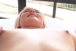 Sweethearts share cock at the casting