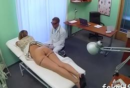 At final sexy doctor reaches agonorgasmos