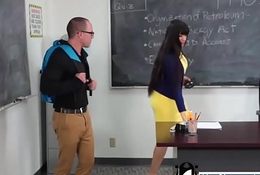 Busty MILF Teacher Fucks Student -Adulteacher.com