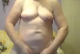 polish grandma solo on cam