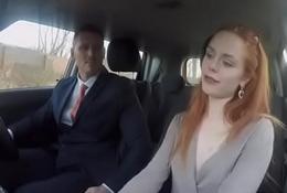 Ella Hughes In Cheeky redhead fails on purpose