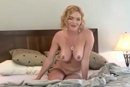Amalia Sticks 2 Fingers In Her Butt Then Sucks Off The Ass Juice