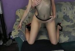 Blonde Couple Fucked by her BF Doggystyle - NaughtyCamHub.com